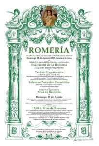 EXALTACIÓN ROMERÍA 2019. A cargo de D. Antonio Trigo Sánchez @ Ermita Ntra. Sra. del Monte