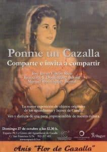 """EXPOSICIÓN """"Ponme un Cazalla. Comparte e invita a compartir"""". @ Espacio FC3 (Centro del Aguardiente de Cazalla)"""
