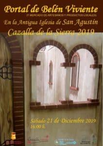 PORTAL DE BELÉN VIVIENTE. MERCADO DE ARTESANOS Y PRODUCTOS LOCALES. @ Iglesia de San Agustín y Patio del Ayuntamiento
